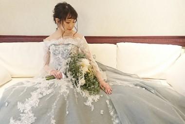 酒田玉姫殿 フォトウエディング プラン5 花嫁 ドレス